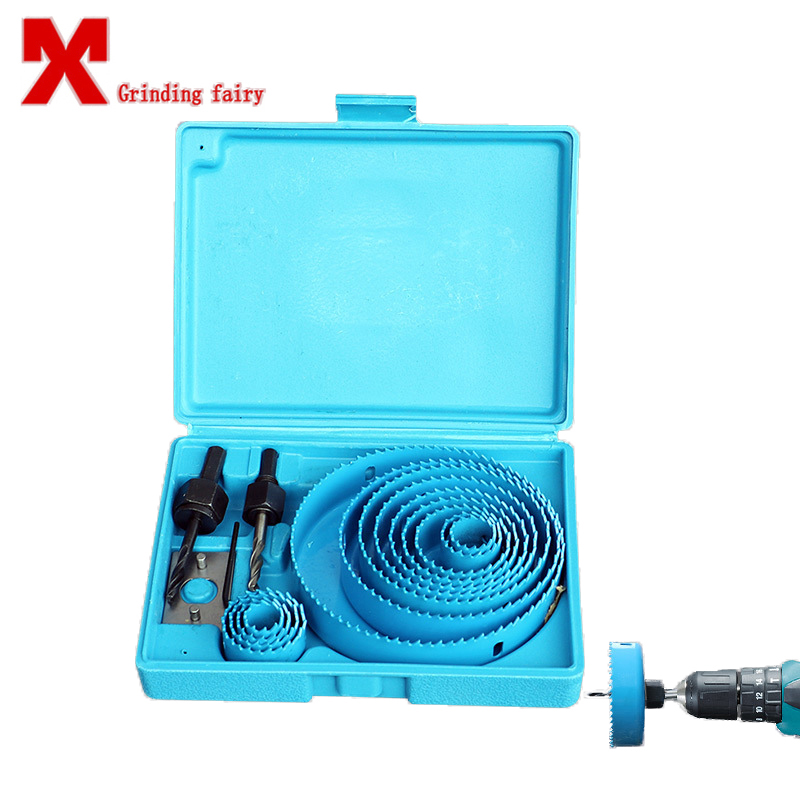 Aluminum Wood Opener Drill Bit Woodworking Carpenter Drills Round Hole Saw Drill Emboitement 5 8 13pcs High Quality Sharpness 96pcs 130mm scroll saw blade 12 lots jig cutting wood metal spiral teeth 1 8 12pcs lots 8 96pcs