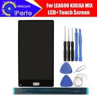 5 5 LEAGOO KIICAA MIX LCD Display Touch Screen Digitizer 100 Original LCD Screen Glass Panel