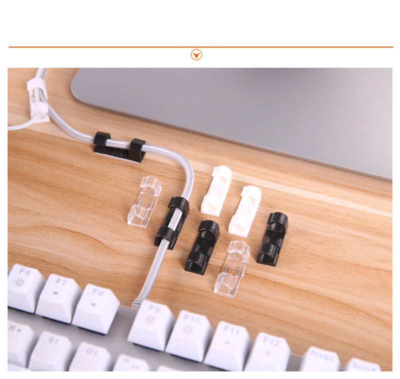 HTB1lsDfogKTBuNkSne1q6yJoXXaE 20pcs Wire Cable Management Organizer Desktop & Workstation Cord Clips Management Holder Data Telephone Line Cable Winder Sleeve