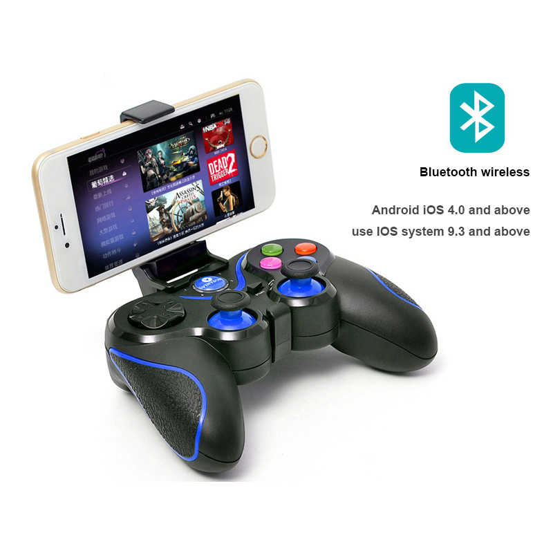 Wireless Bluetooth Gamepad Game Controller Joystick Control for cellular  games PS3/4 with PC TV box android phone