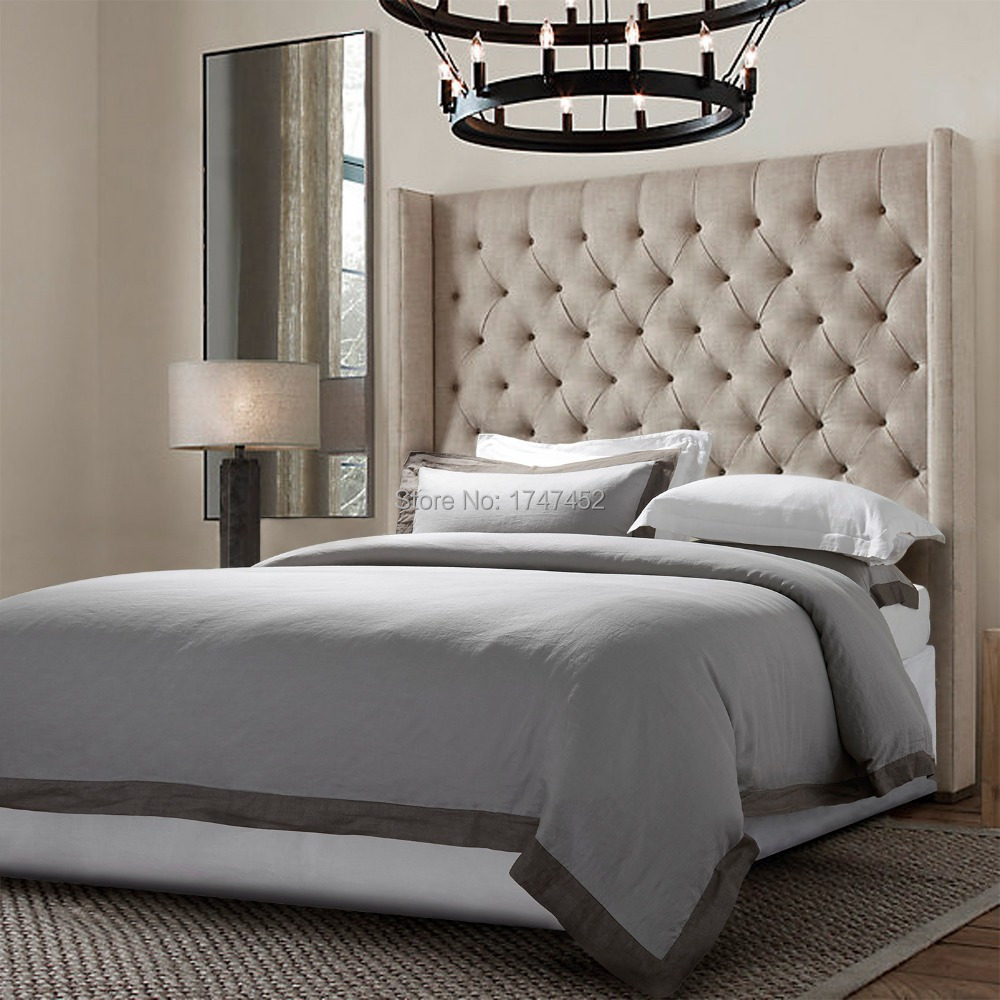 Buy 100 Linen Stone Wash Bedding Set With