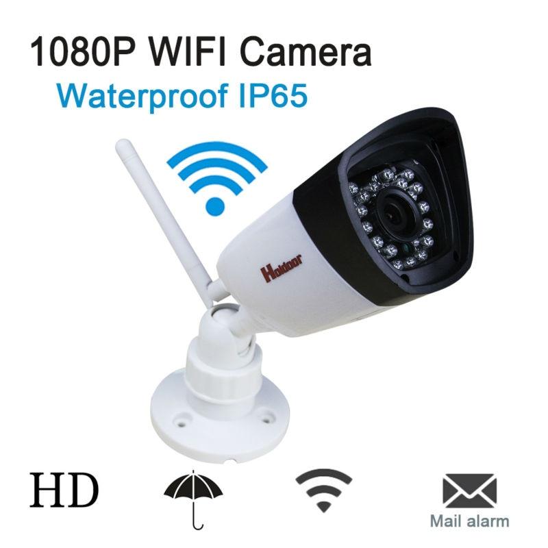 WIFI 1080P 2.0MP HD Bullet IP Camera Waterproof IP65 24 LED IR Night Vision Mini Home Security Camera ONVIF 2.0.4 P2P CCTV Cam cctv 720p hd ip camera 1mp outdoor ir night vision security waterproof mini bullet p2p megapixel onvif network poe ip cam xmeye