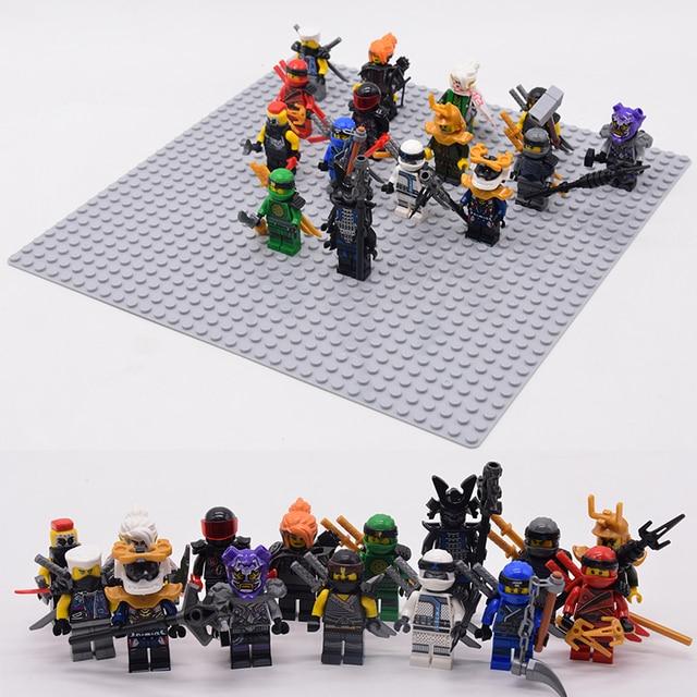 1pcs Ninja Mini action Figures Building Blocks Kids 1