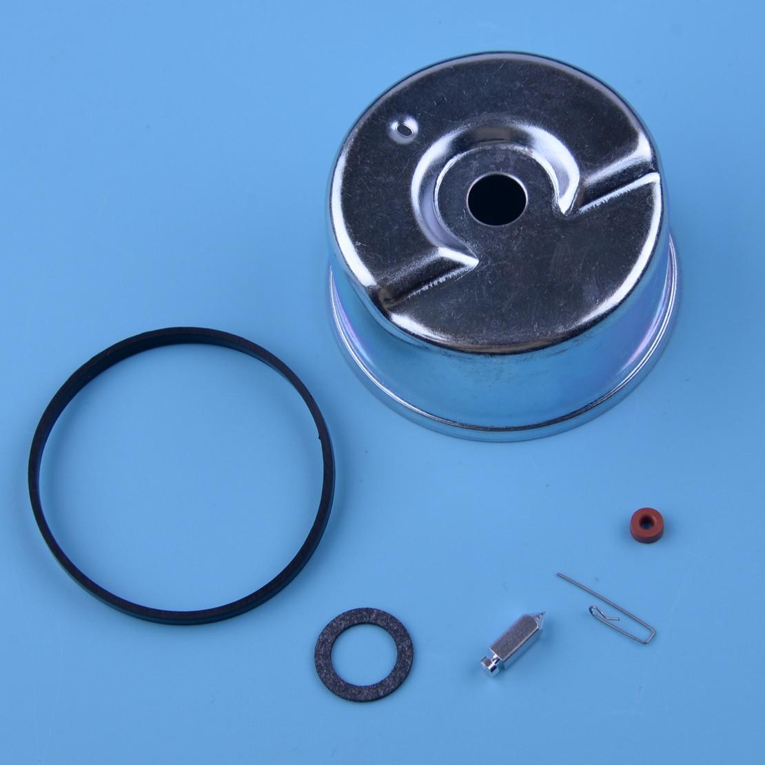 LETAOSK 6pcs /set Carburetor Float Bowl Needle Seat O-ring Repair Tool Kit Engine Fit For Tecumseh 631867 631021B