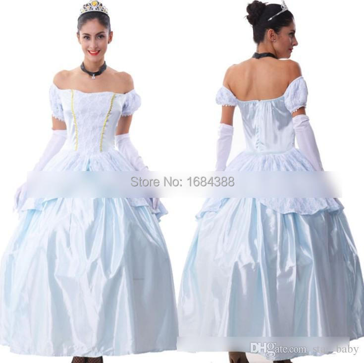 Hot Sale Women Dress Snow Queen Princess Dresses Big Girl Special ...