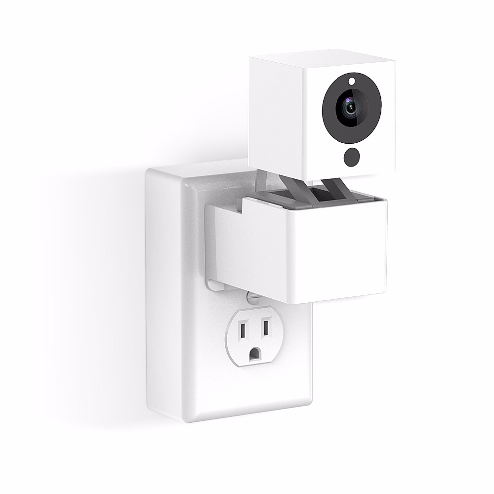 US $18 99 |Outlet Wall Mount Hanger Stand for Wyze Camera and iSmartAlarm  Spot Camera without Messy Wires-in Smart Accessories from Consumer