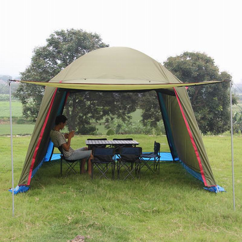 Outdoor Sunshade Pergola Tent Pavilion People Proof Uv Sky