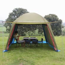 Открытый навес Pergola палатка Pavilion людей УФ небо пляж палатка