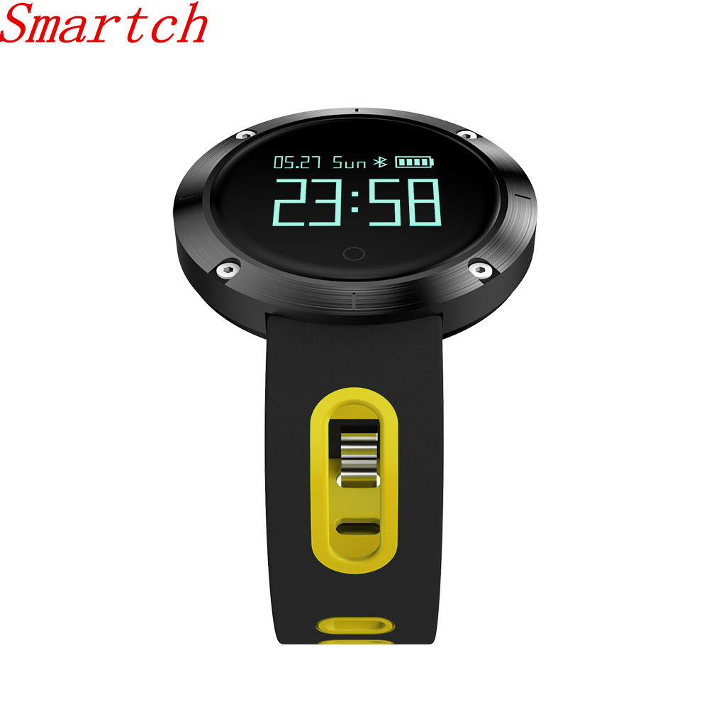 Smartch DM58 Smart Band Heart Rate Blood Pressure Watch IP68 Waterproof Sports Bracelet Smart Wristband Fitness