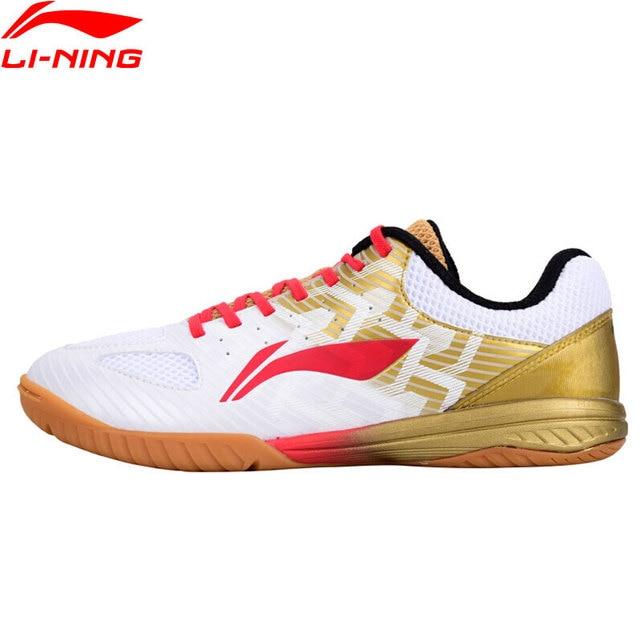 Li-Ning Для мужчин профессиональный настольный теннис обувь национальная спонсором команды Ma длинный удобный внутри Спортивная обувь Кроссовки APPN009 YXT029