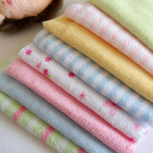 8Pcs Towels For baby High Quality Soft Towels For kids Pack Baby Face Washers Hand Towels Cotton Wipe Wash Cloth Gift Wholesale(China)
