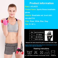 Gym Gloves for Body Building or Fitness Exercise Training
