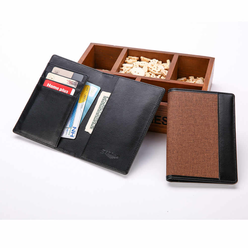 Waterproof Portable Passport Package Multifunctional Travel Passport tarjetero porte carte bancaire porte carte4.33