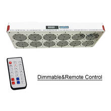 Здесь можно купить  NEW Full Spectrum Grow Light Apollo 12 Dimmable Remote Control with 180x3W High Efficiency Grow LED. Supply Spectrum Customize  Professional Light