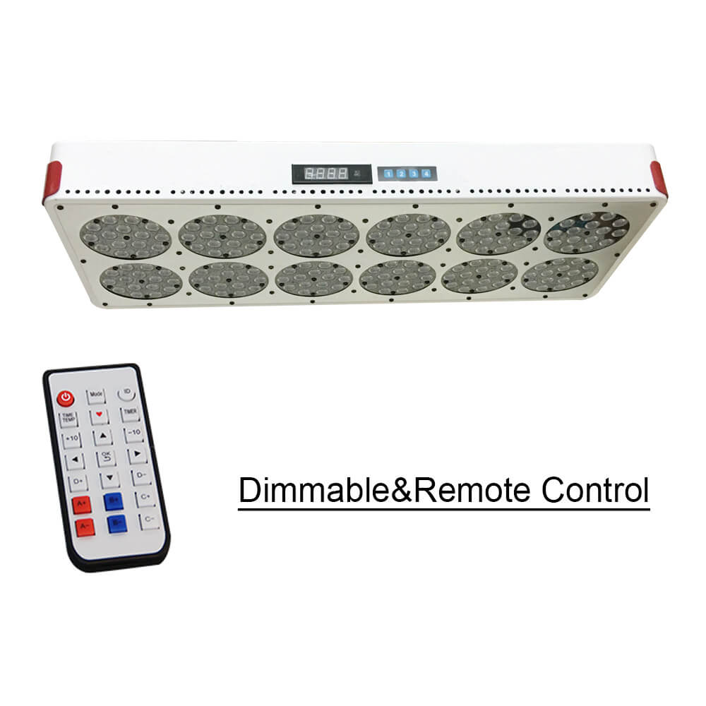 NEW Full Spectrum Grow Light Apollo 12 Dimmable Remote Control With 180x3W High Efficiency Grow LED. Supply Spectrum Customize