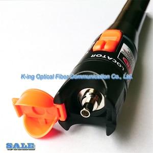 Image 3 - King Honest VFL detector de fallas visuales, fibra óptica de 10 km, pluma con salida pw: >10mW, localizador visual de fallos