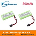 2 Pcs For Uniden BT-1008 BT-1016 BT-1021 BT-1025 BT1021 BT1025 CPH-515B Cordless Home Phone Battery