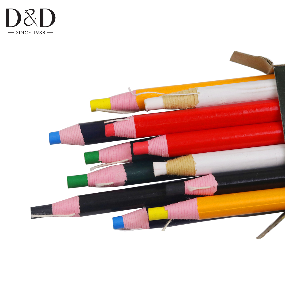 1 Set Smooth Invisible Tailor Chalk Marking Pen Pencil for Sewing Fabric Leather