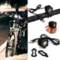 High Quality  5000LM Rechargeable Bike Bicycle 3x XML T6 LED Front Head Light Headlamp