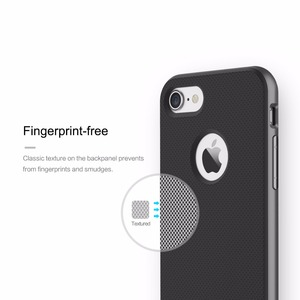 Image 5 - Original ROCK Luxury Royce Phone Cases for iPhone 7/7 Plus Cover PC+Textured TPU Armor Case Shell for iPhone7 Case Sleek