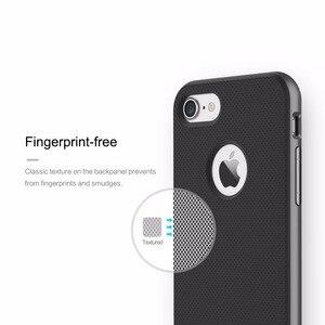 Image 5 - ROCK funda de lujo para iPhone 7/7 Plus, carcasa Original de lujo con textura de TPU y armadura, elegante