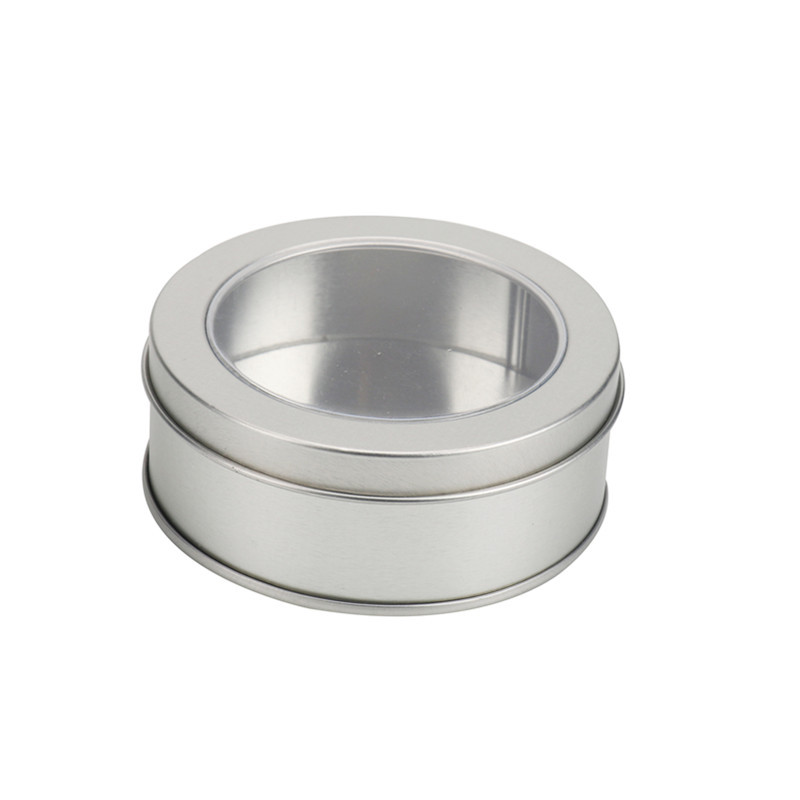 Round Tin Storage Box 12pcs Metal Case Container Candy Jewelry Wedding Favors