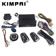 Kimpai 9008 PKE Автозапуск Системы для Hyundai Универсальный центральный замок Anti-Theft Системы пульт дистанционного спуска ствола