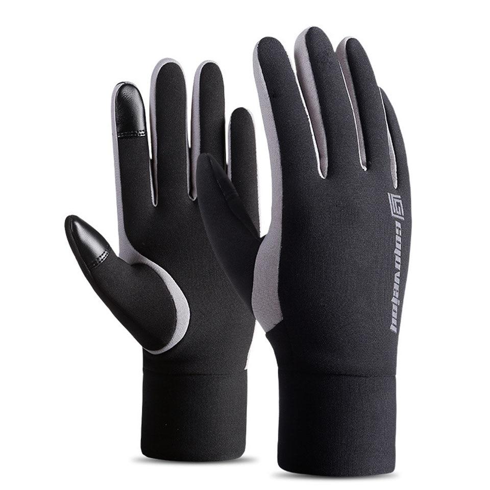 Открытый полный палец перчатки для пешего туризма Спорт Кемпинг Альпинизм Езда съемка износостойкие зимние теплые лыжные перчатки ветроза...
