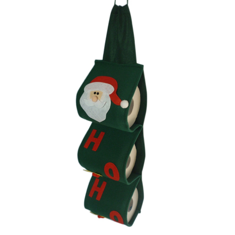 Hot Sale Diy Christmas Party Santa Claus Towel Sets Covers Lovely