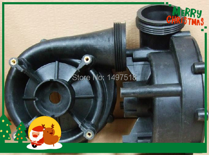 LX LP300 Pump housing, Wet End Body only -for 7 inch pump cover below lx pump ea320 ea350 pump wet end pump body
