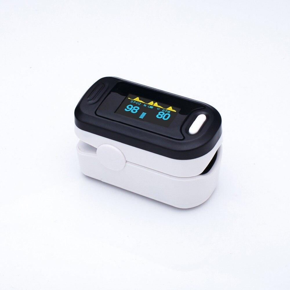 Loodom Vinger Pulsoxymeter Zuurstof Monitor Oled Pulsoximeter Vingertop Saturatiemeter De Dedo De Pulso Vinger Oximeter Пульсоксимет - 6