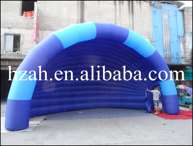 Best price blue inflatable tent,outdoor decoration tent best price 5pin cable for outdoor printer