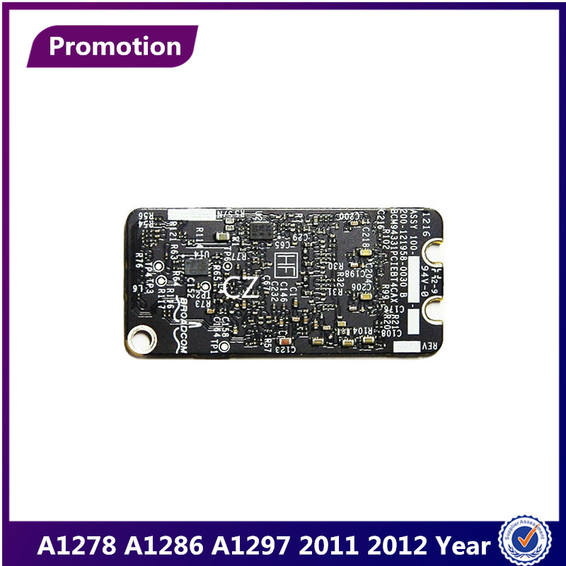 """A1278 A1286 A1297 Bluetooth 4.0 Wifi Airport Card BCM94331PCIEBT4CAX for Macbook Pro 15"""" 2011 2012 Year 661-5867 607-7291(China)"""