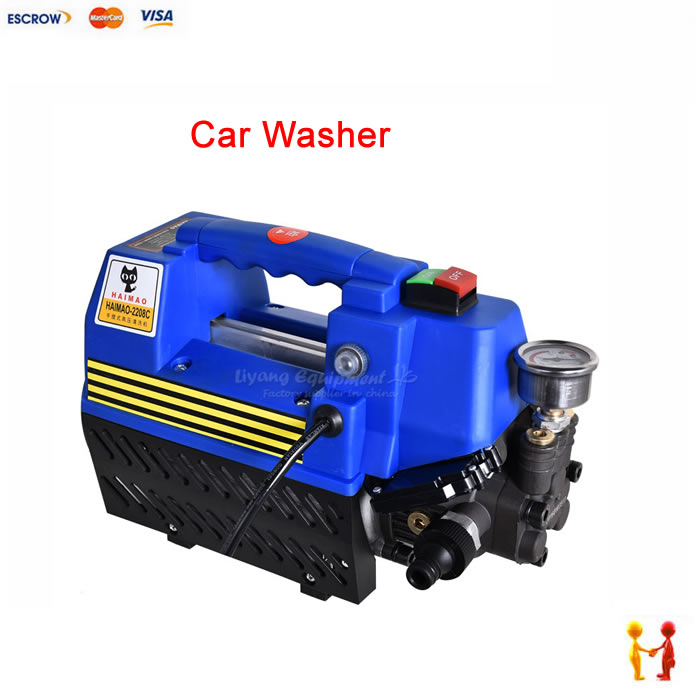 automatic portable high pressure car washer 220v household car washing machine 220v 50hz 7l min washing machine portable high pressure household washing device