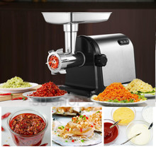 цена на 2019 Multifunction Electric Meat Grinder 800W 220V-240V Sausage Machine Mincer Kitchen Tool