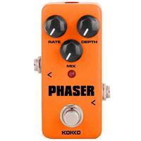 KOKKO FPH2 Mini Guitar Amplifier Orange Pedal DC adapter Phaser Guitar Square Part