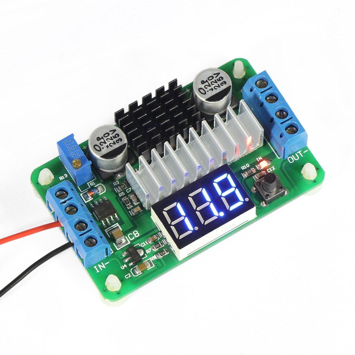3.5V-30V DC Boost Converter Power Transformer Voltage Regulator 5V/12V Step Up Volt Module Board for Car Motorcycle Automotive