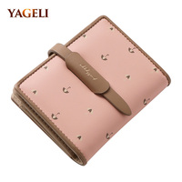 YAGELI 2018 New Women S Purses And Wallets High Quality PU Leather Women Wallet Luxury Brand