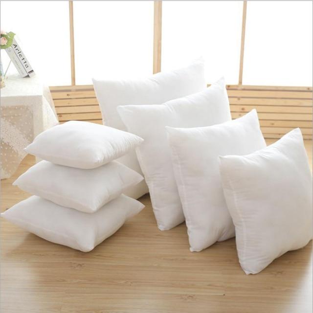 Square Nonwoven Fabric PP Cotton Cushion Core Seat Back Lumbar Throw Pillow Filling Inner  43*43cm 45*45cm 48*48cm 55*55cm 450g