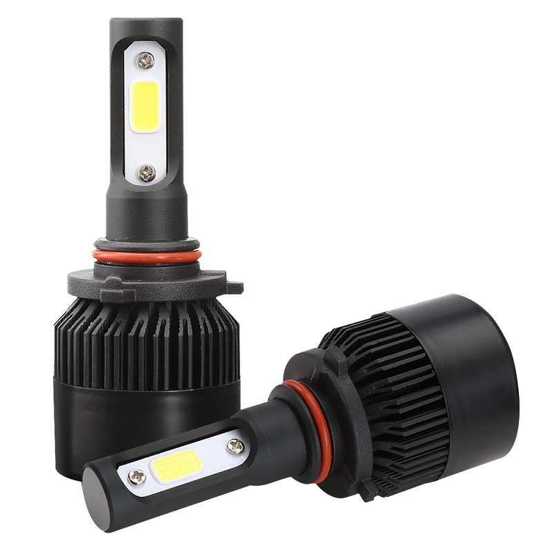 Shipping by DHL S2 Car Headlight H7 LED H4 H1 H11 H13 HB3 HB4 9004 9005 9006 9007 72W 8000LM 12V Auto Headlamp 6500K Light Bulb