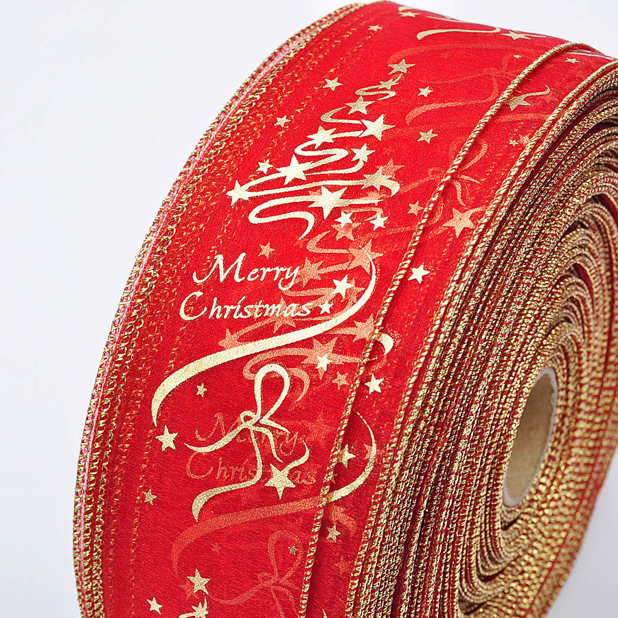 200cm Christmas DIY Ribbon Christmas Tree Gift Box Bow Decorations for Home Festive Party Supplies High Quality