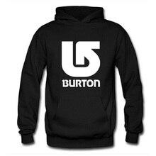 Fashion BURTON Arrows Printed Hoodies Men Full Sleeve Overcoat Autumn Winter Male Skateboard Sweatshirt Man Pullover Streetwear