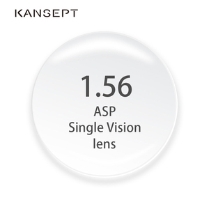 Image 1 - KANSEPT 1.56 מדד מרשם עין משקפיים קוצר ראיה מותג עדשה ברורה משקפיים קשיח שריטה עמיד אספריים אופטי עדשות