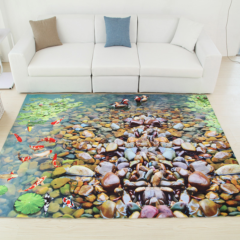 120x180cm 3d undersea word carpets carpets for living for Living room 4 pics 1 word