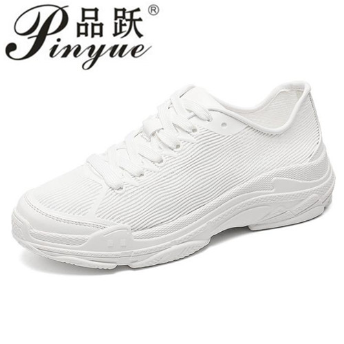 High quality 2018 spring fashion women casual shoes platform shoes women sneakers Ladies white Trainers chaussure femme 34--40