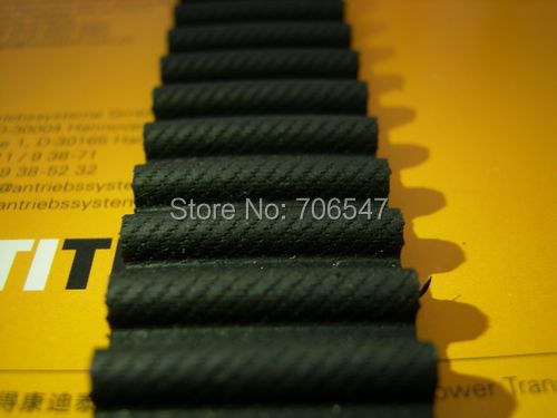 Free Shipping 1pcs  HTD1824-8M-30  teeth 228 width 30mm length 1824mm HTD8M 1824 8M 30 Arc teeth Industrial  Rubber timing belt nuby red
