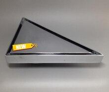 Бесплатная доставка Медь Хромированный Треугольник Пол Drainer Размер 157 мм * 157 мм Угловая Ванная Комната Аксессуары