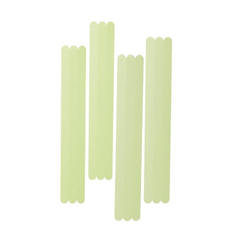 12pcs Anti-slip Shower Strips Floor Sticker PEVA Non-slip Bath Grip Stickers Flooring Bath Tub Tape Mat Bathroom Accessories(China)
