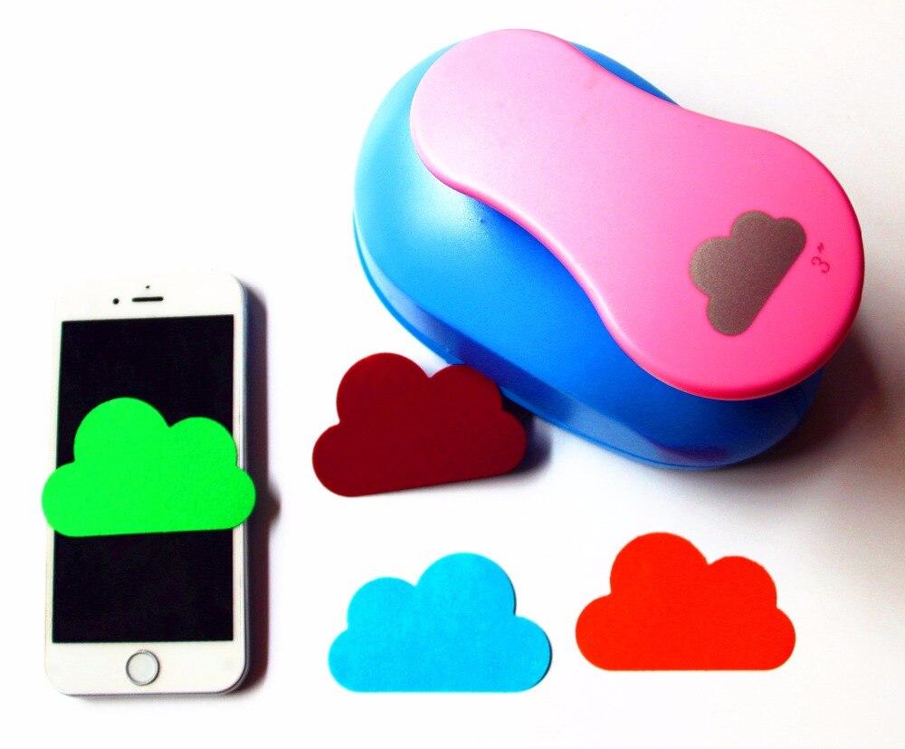 Heart craft punch large - Super Large 3 75mm Clouds Design Diy Craft Punch Eva Creative Embosser