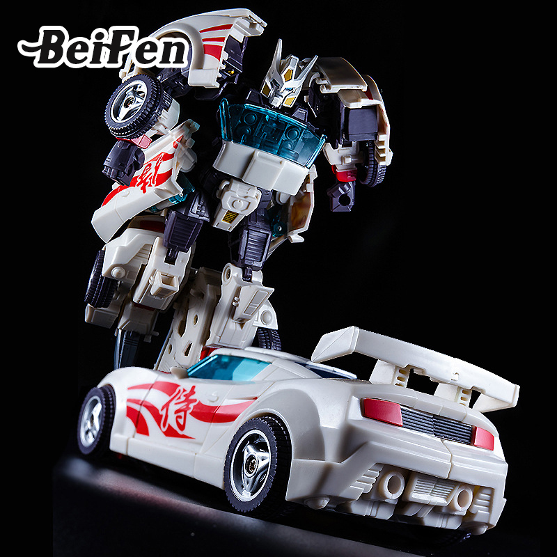 BEI FEN Presell Race Car Robot Transformation Classic Plastic Children Model Set Toys for Kids Christmas Birthday Gift плед sleepy year с рукавами и поясом бело синий с оленями